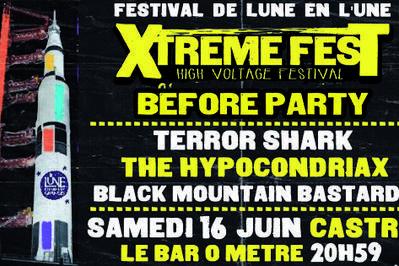 Xtreme Fest Before Party : Terror Shark, HypocondriaX et Black Mountain Bastards à Castres