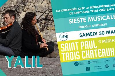 Yalil / Musique Orientale à Nyons