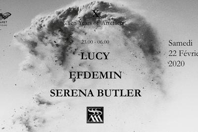 10 Years Stroboscopic Artefacts w/ Lucy, Efdemin, Serena Butler à Marseille