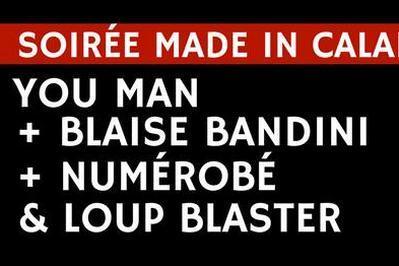 You Man Blaise Bandini Numérobé Loup Blaster à Calais