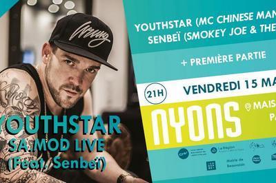Youthstar Sa.mod Live Feat Senbeï Et Première Partie // 15 Mars à Nyons