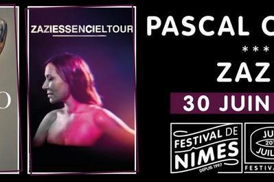 Zazie et Pascal Obispo à Nimes