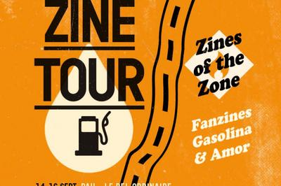 Zines of the Zone « Kerozine Tour » à Nancy