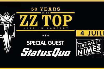 ZZ Top et Status Quo à Nimes