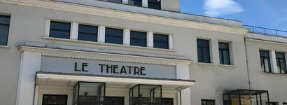 Le théâtre Scène conventionnée Auxerre
