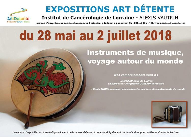 Exposition Instruments de Musique, Voyage autour du Monde à Chaligny