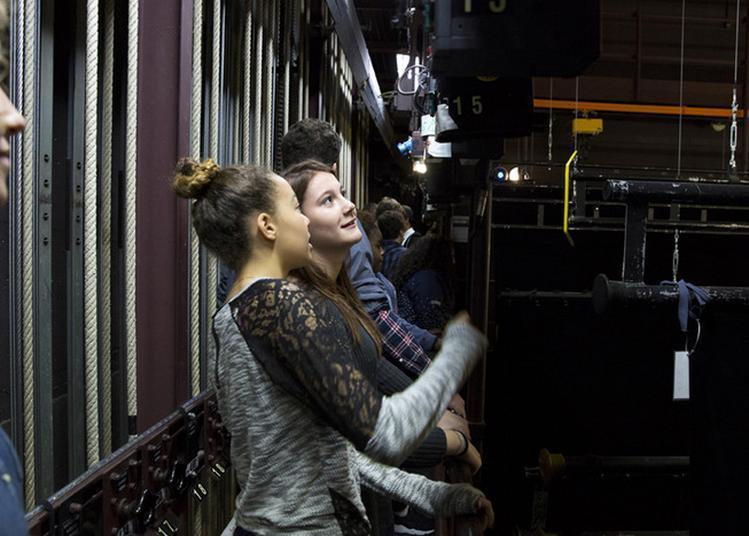 #1 Visite Commentée Du Théâtre : La Machinerie à Paris 20ème