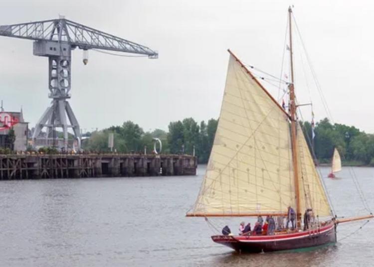 10 Ans Du Saint-michel Ii : Visite Guidée Du Bateau De Jules Verne, Et D'autres Bateaux Patrimoniaux De La Cale 2 L'île à Nantes