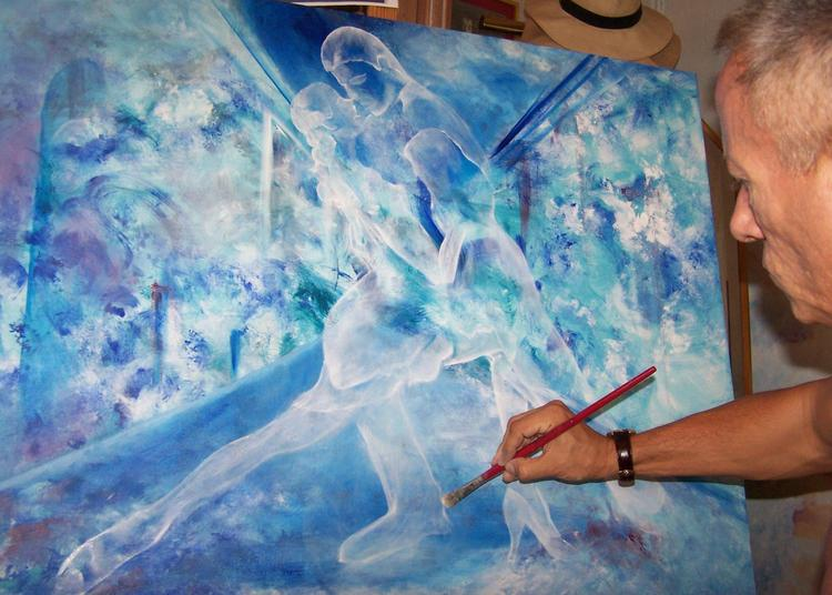 Expo Gerard Dubreuil Art à Durban Corbieres