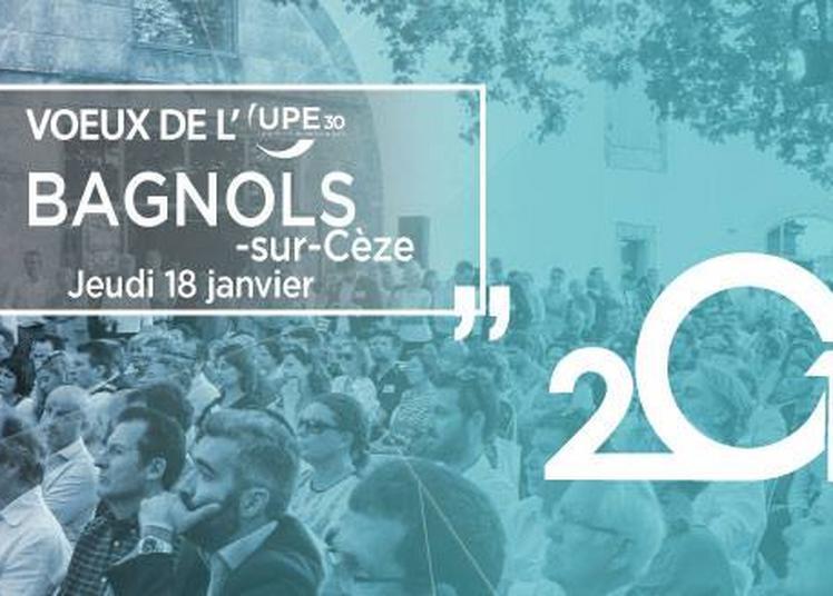 Bagnols sur Cèze : Soirée des voeux de l'UPE30 à Bagnols sur Ceze