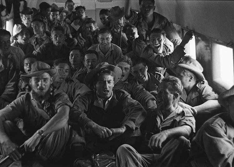 La guerre d'Indochine par Willy Rizzo à Paris 7ème