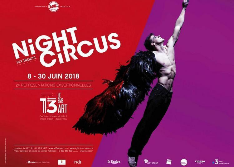 Night Circus - ReCirquel à Paris 13ème