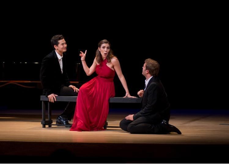Carte Blanche - Les Maitres Sonneurs - Ti amo, Les grandes scènes d'alour dans l'opéra Italien à Toulouse