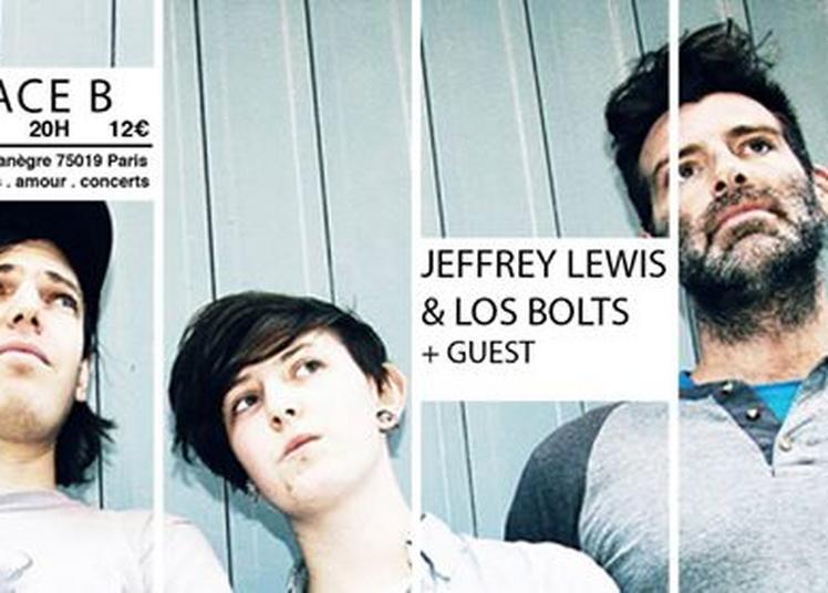 Jeffrey Lewis & Los Bolts + guest à Paris 19ème