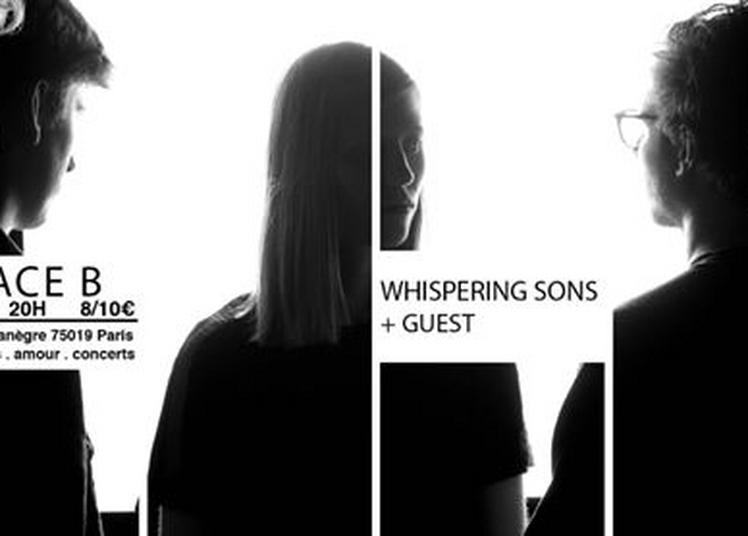 Whispering Sons + guest à Paris 19ème