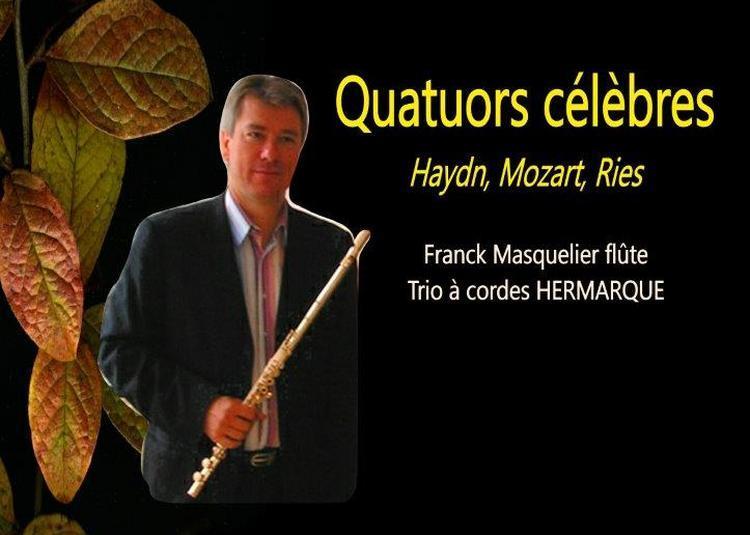 Quatuors Célèbres : Haydn, Mozart, Ries à Versailles