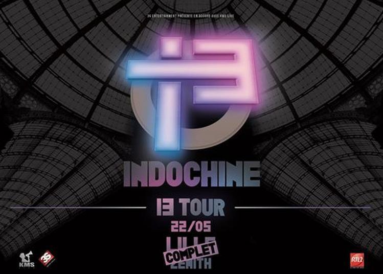 Indochine 13 Tour à Lille