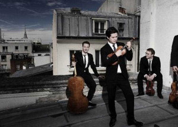 Rising Stars Quatuor Van Kuijk / Beethoven, Webern, Canat De Chizy, Schubert à Paris 19ème