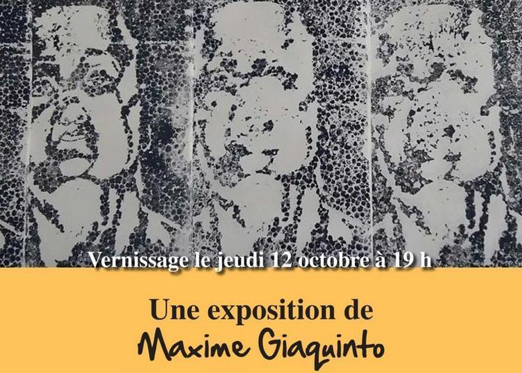 Vernissage Exposition Mémoire de Maxime Giaquinto à Wasquehal