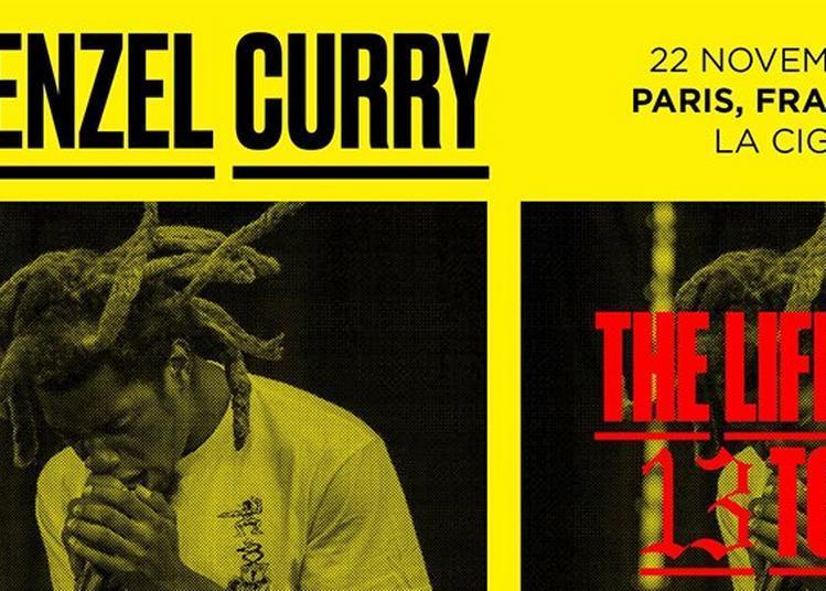 Denzel Curry à Paris 18ème