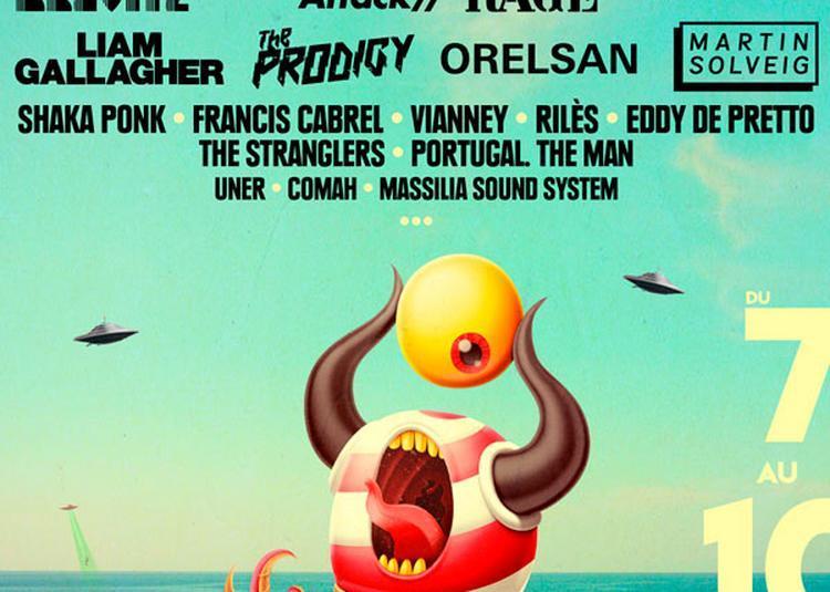 Pass Liam Gallagher + Suprême NTM à Argeles sur Mer