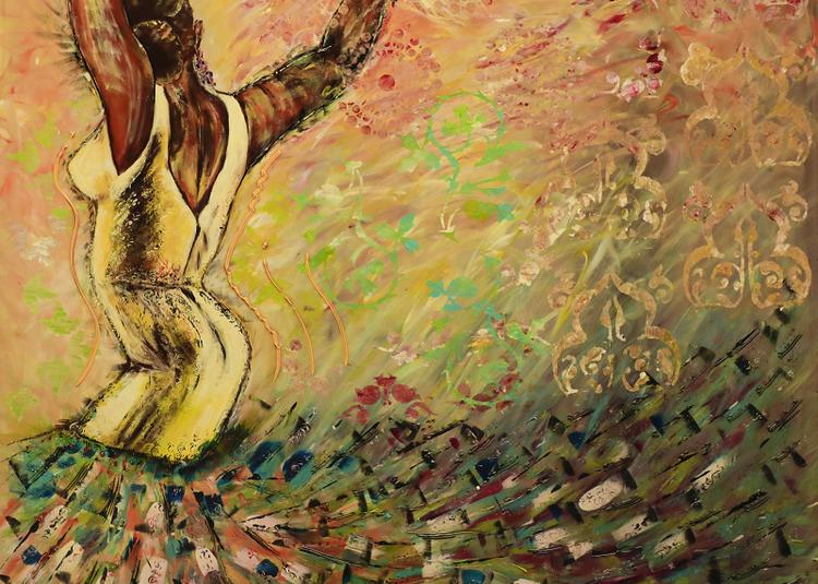 Exposition de peintures sur l'Art flamenco et l'Andalousie dans le cadre du 17ème Festival Andalou à Morieres les Avignon