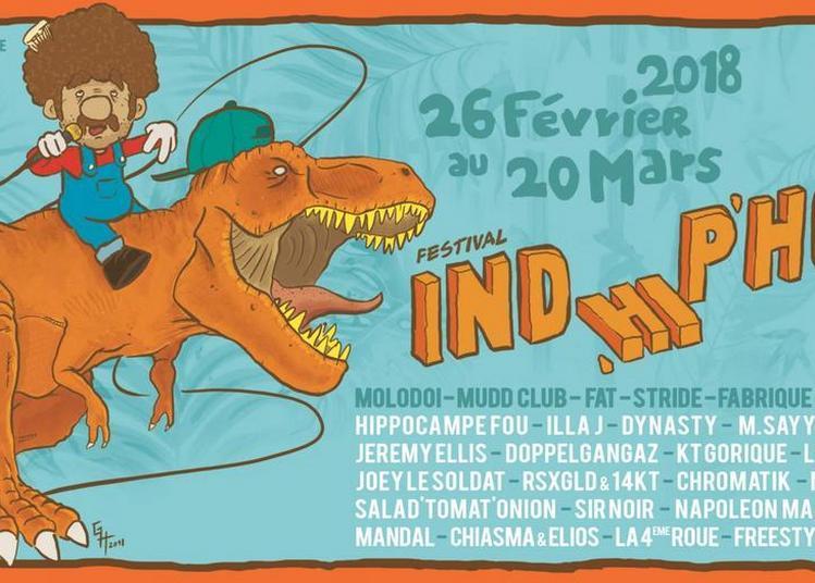 Festival Ind'Hip'Hop // Hippocampe Fou, Géabé et Salad' Tomat' Onion' à Strasbourg