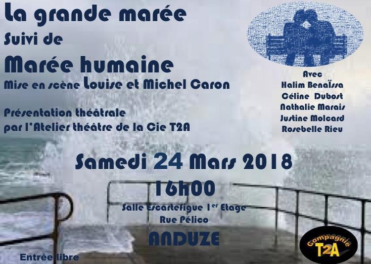 Présentation de l'atelier théâtre de la Cie T2A à Anduze