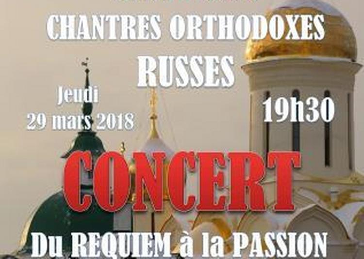 Du Requiem à la Passion du Christ à Paris 7ème