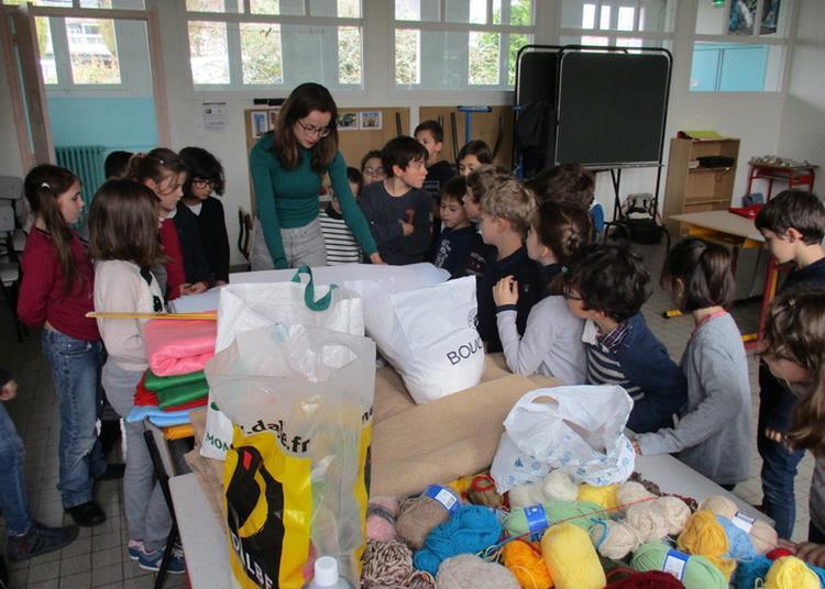 La Classe, L'oeuvre : école Algésiras à Brest