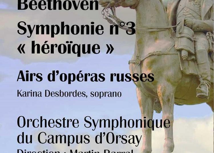 Beethoven et airs d'Opéra Russes par l'Orchestre Symphonique du Campus d'Orsay