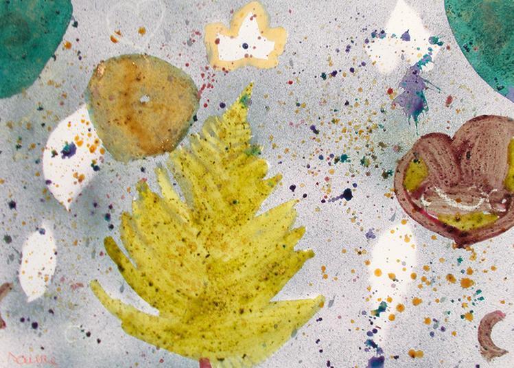 Peinture Végétale (6-12  Ans ) à Rouen