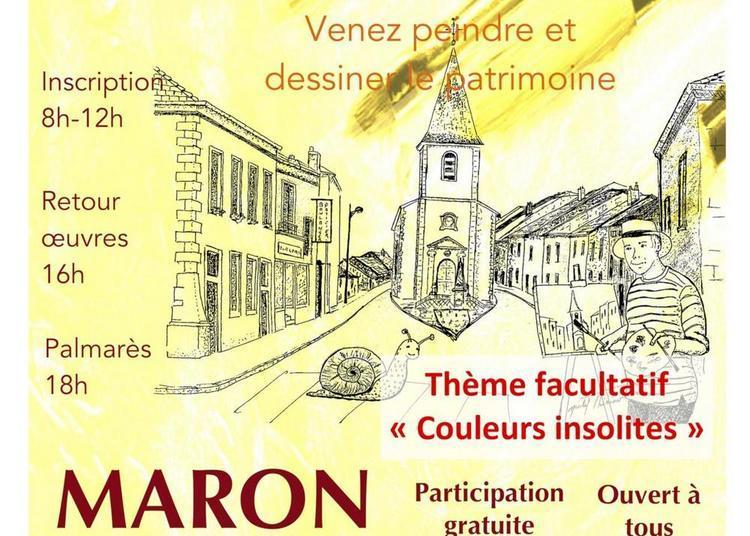 Concours de peinture rapide à Maron