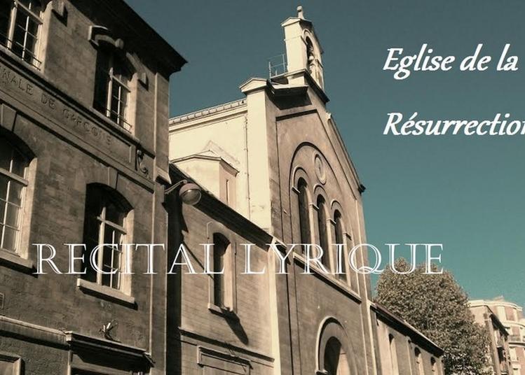 Récital De Chant Lyrique à Paris 15ème