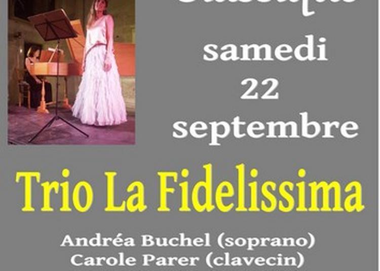 Concert Classique Avec La L'ensemble La Fidelissima à Sorede