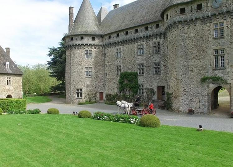 Visite Du Château Et Du Haras National De Pompadour à Arnac Pompadour