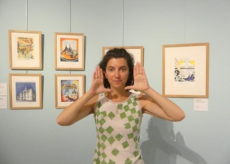 Visite Mimée De L'exposition Temporaire A La Manière D'eux... Par La Compagnie La 10 Doigts Compagnie à Avranches