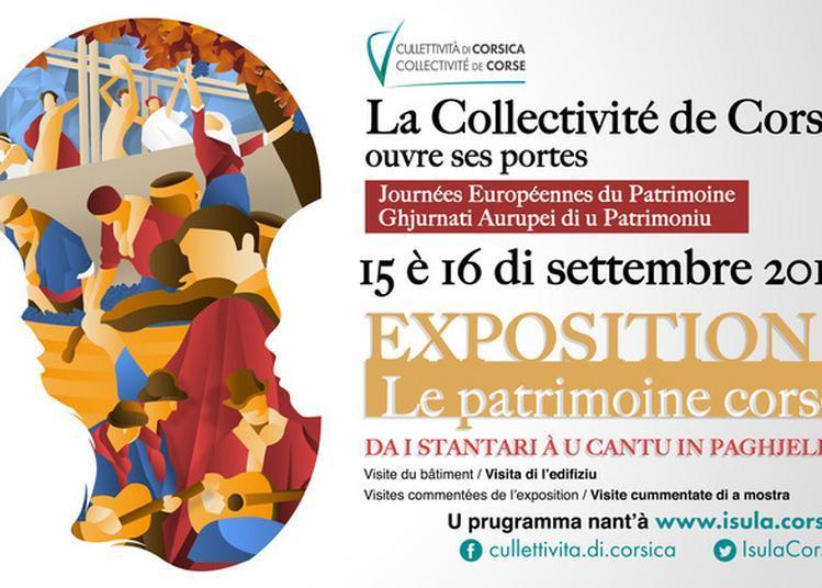 Visites Commentées De L'exposition  Le Patrimoine Corse : Da I Stantari à U Cantu In Paghjella à Bastia