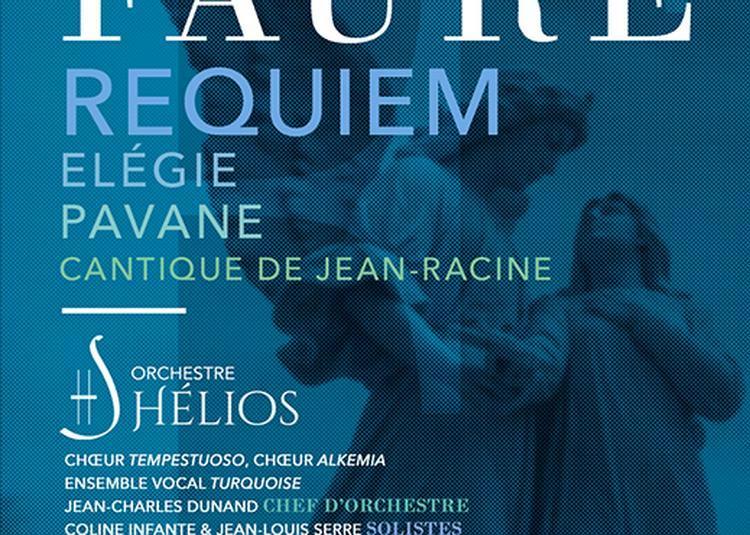 Requiem de Fauré, Elégie, Pavane, Cantique de Jean-Racine à Paris 8ème