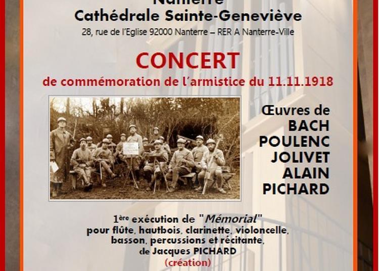 Concert de commémoration de l'armistice du 11.11.1918 à Nanterre