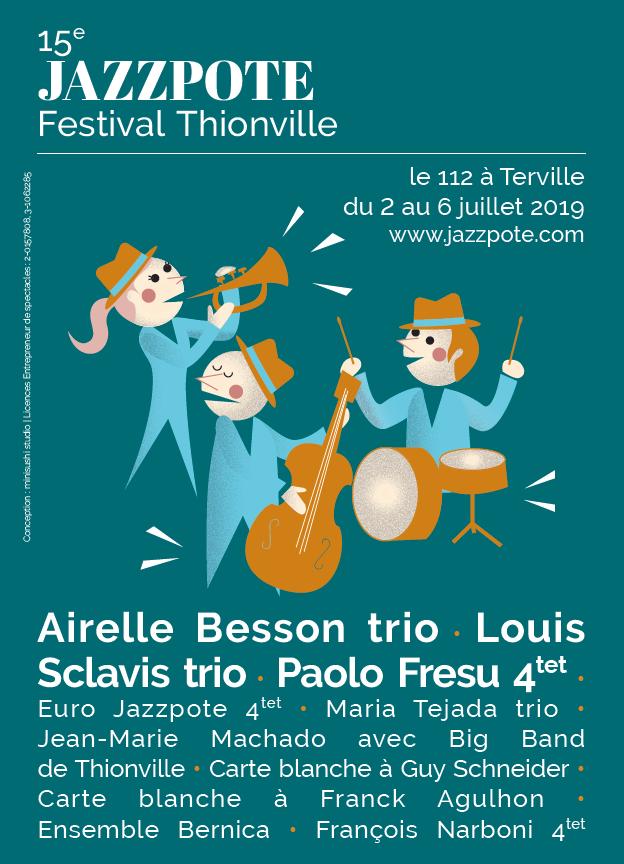15eme Jazzpote Festival - 05/07/19 à Terville