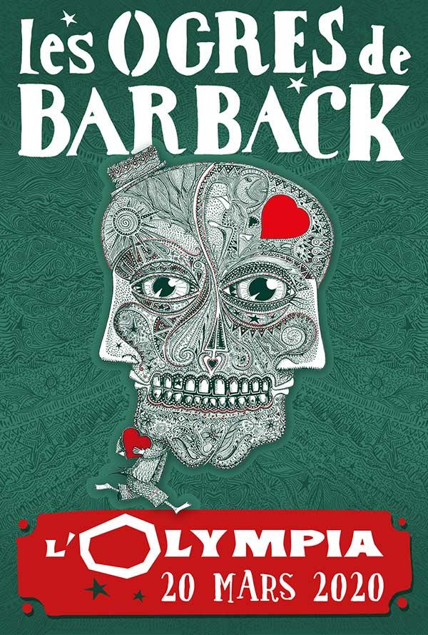 Les Ogres De Barback à Paris 9ème