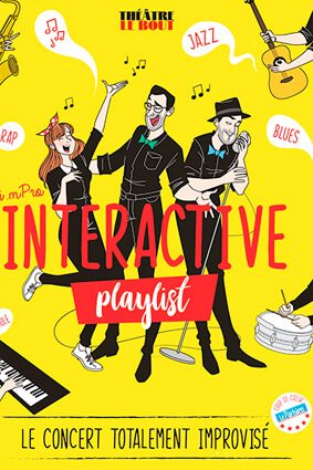 Impro Interactive Playlist à Paris 9ème