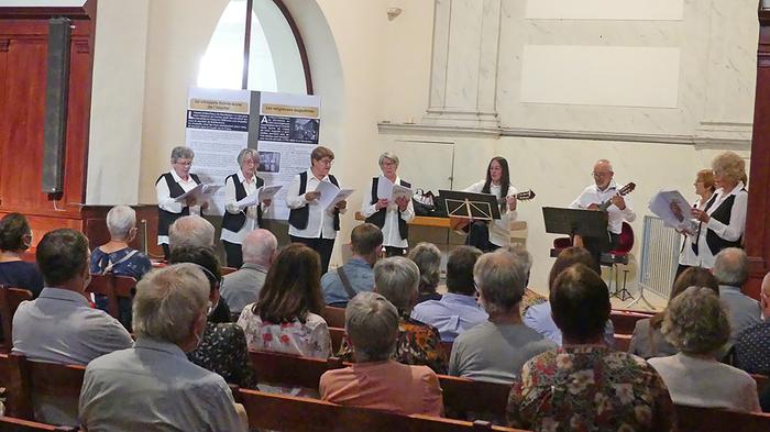 De La Musique à La Chapelle Sainte-anne à Montbrison