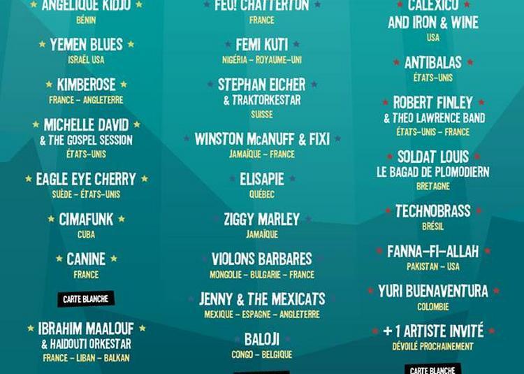 20e Festival Du Bout Du Monde - P2j à Crozon