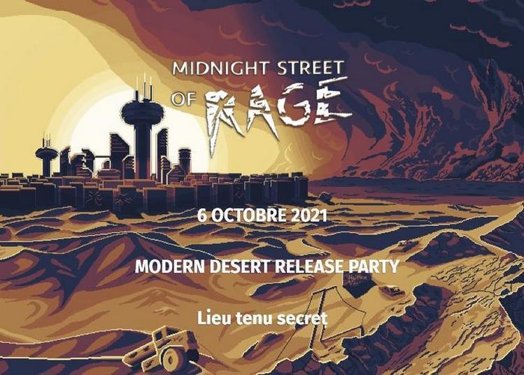 Midnight Street of Rage - release party Modern Desert à Paris 11ème