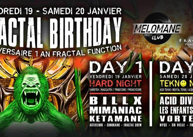 Fractal Birthday à Montpellier