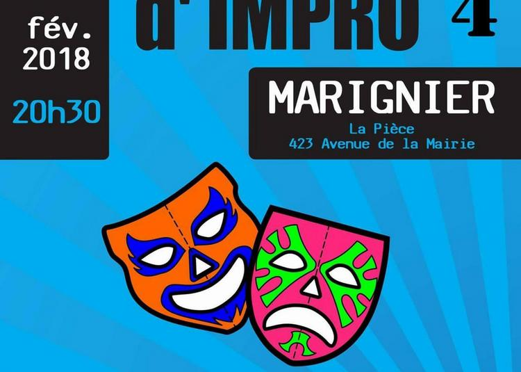 Match d'Improvisation Théâtrale à Marignier