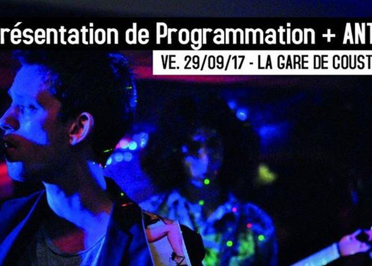 Présentation de programmation + Antics (rock) à Maubec