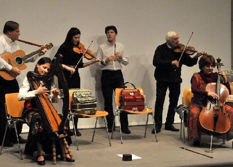 Concert irlandais avec le fameux groupe trotwood à Saint Etienne